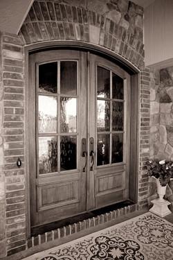 Masonry and Wood Entry