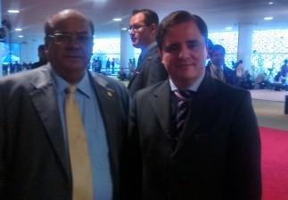 Deputado Nilson Pinto reafirma suporte ao Brigadeiro Protásio