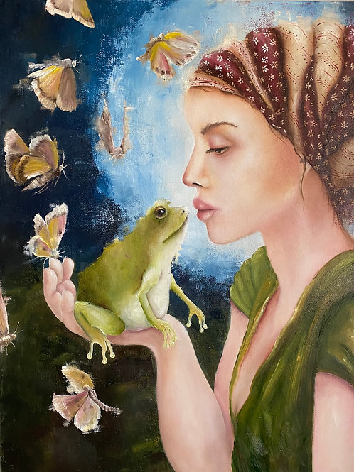 The Girl And The Toad