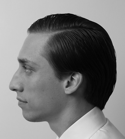 American Crew Faceoff finalist mens hair style