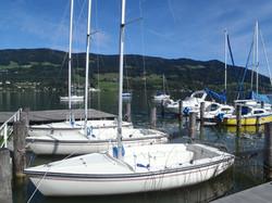 Bootsliegeplätze und Bojen Mondsee