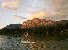 Stand Up Paddling Mondsee