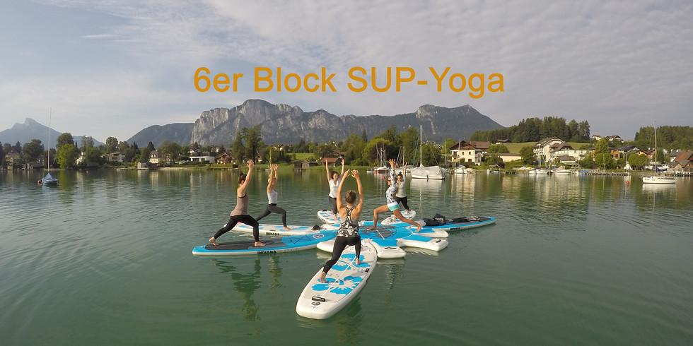 6er Block SUP-Yoga