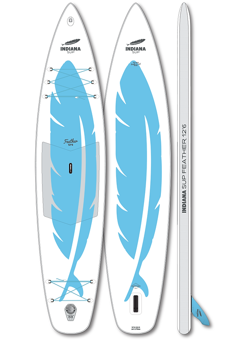 Indiana 12'6 Feather Inflatable