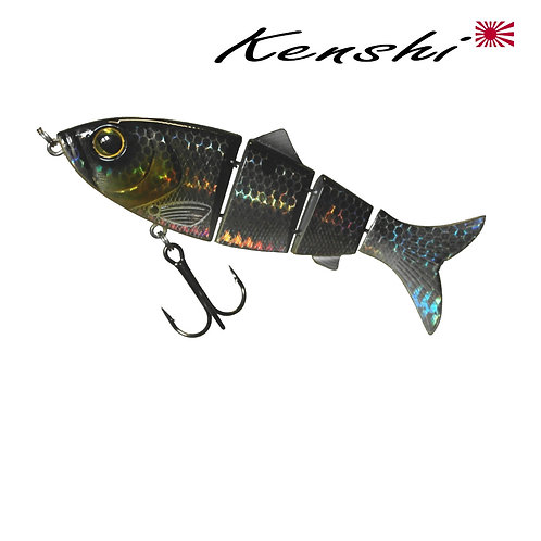 LEURRE KENSHI IWASHIRO FLAT JOINTED 115MM  24GR / VARIABLE COULANT