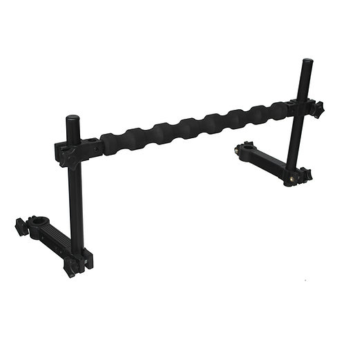 BARRE SUPPORT CANNE A ENCOCHES DUAL-D 25/36MM