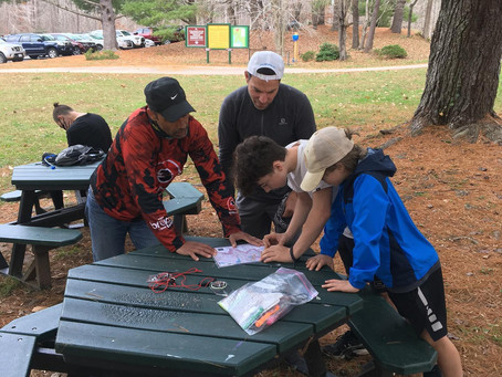 Orienteering at Fountainhead Regional Park