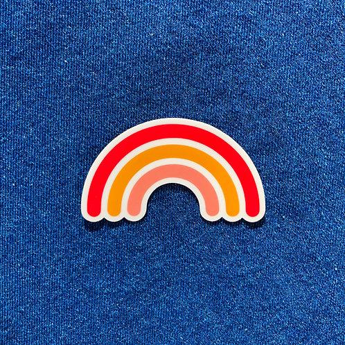 POLLYANNA rainbow sticker