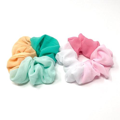 tri-color scrunchie