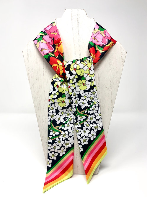 funky floral scarf