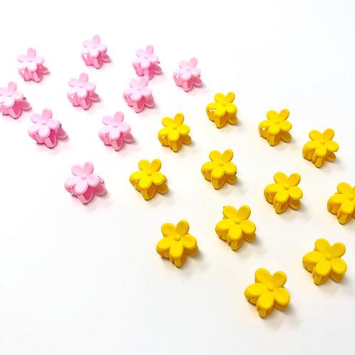 daisy baby clips