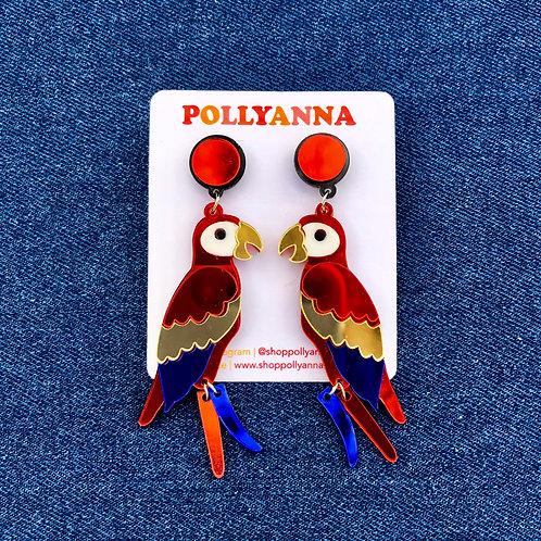 party parrot earrings