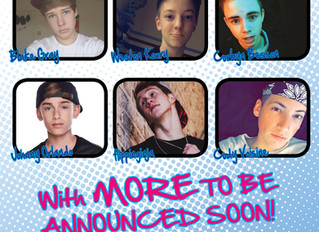 YoungNFree Tour now adds JOHNNY ORLANDO performing, plus guests flippinginja and Cody Voisine! Feb 2