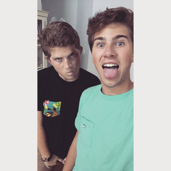 Nick and Matt Hall