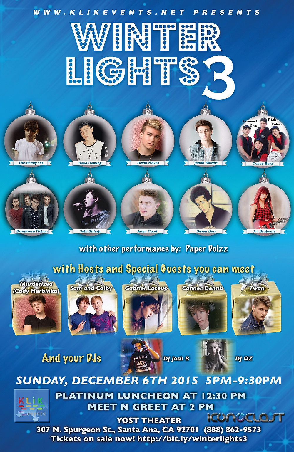 Winter Lights 3 Poster