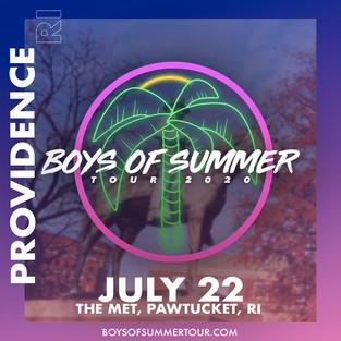 PROVIDENCE/BOSTON - July 22