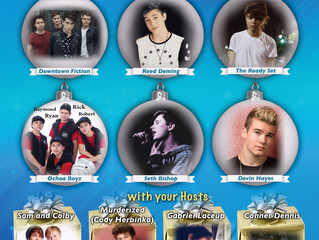 muderized (CODY HERBINKO), Gabriel Laceup, Conner Dennis and Jonah Marais all added to Winter Lights