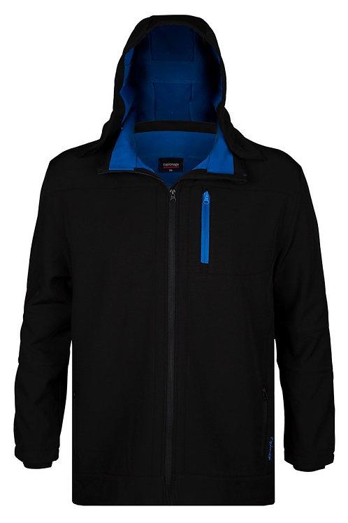 Espionage Soft Shell Hooded Fleece Jacket XL Sizes FL031