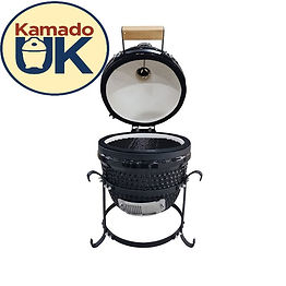 """KamadoUK Mini Grill 13"""" Cook For 2 People"""