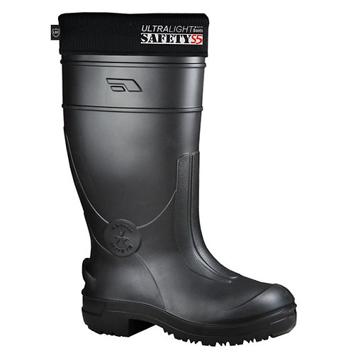 LEON Ultra Lightweight Safety Wellington Boot SAF5
