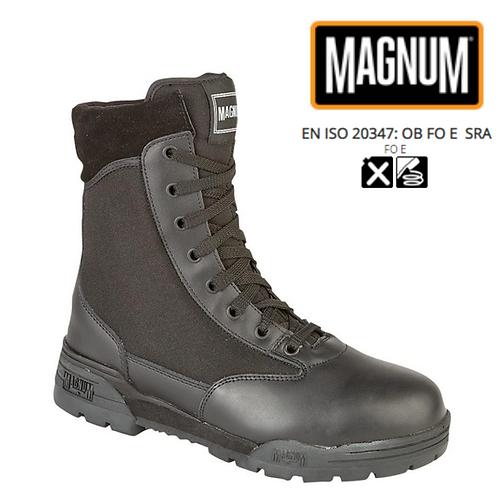 MAGNUM Classic Black Leather/1150 Denier  Nylon Military Combat Boot M439A