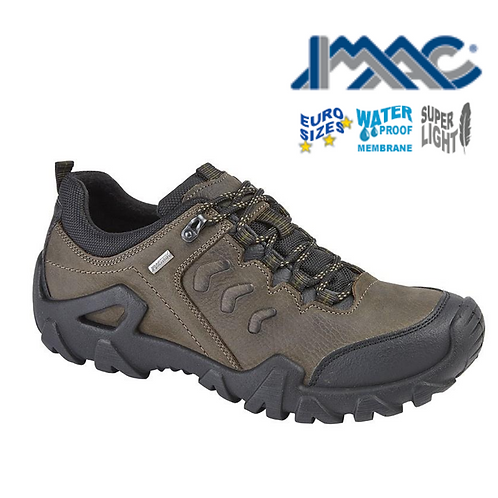 IMAC Freeland Brown Oily Leather Trail Shoe M398B