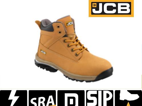JCB Workmax Honey Nubuck Safety Boot S1P SRA WORKMAX/H
