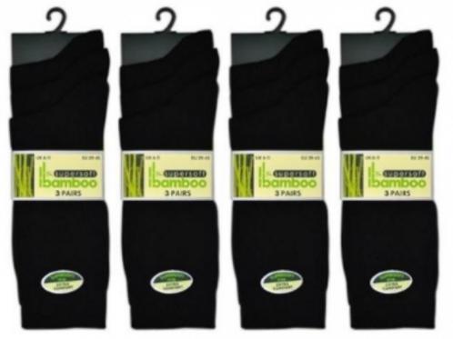 Bamboo Socks Pack of 3 AS964