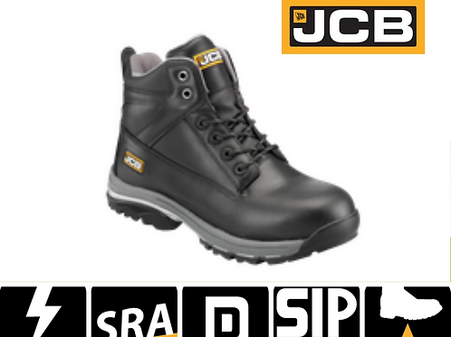 JCB Workmax Black Safety Boot S1P SRA WORKMAX/B