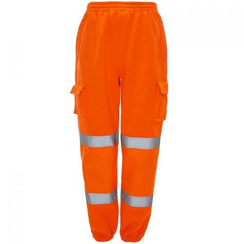Supertouch Hi Vis Orange Jogging Bottoms H71