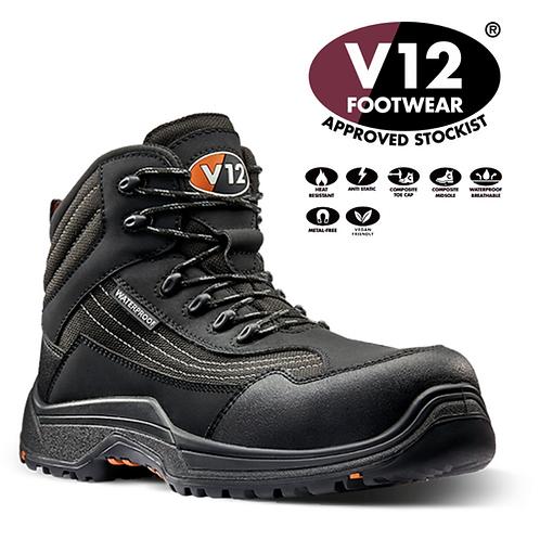 V12 Caiman IGS Graphite S3 HRO SRC Waterproof Hiker Vegan Friendly V1501.01