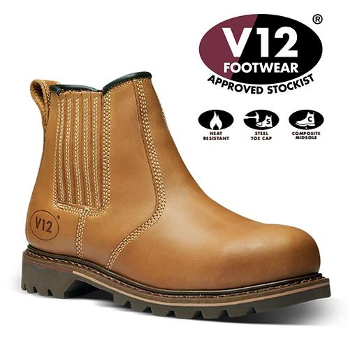 V12 Stampede Vintage Leather Dealer Boot V1241