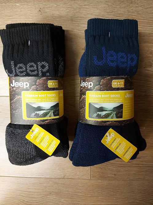 'JEEP' Terrain Boot Socks AS187