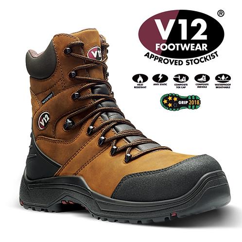 V12 Rocky IGS Gaucho S3 Waterproof Zip-Sided Hiker V1255.01