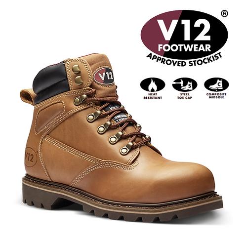 V12 Mohawk Vintage Leather Mid Boot V1244