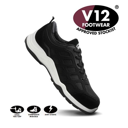 V12 KPU Technology Safety Trainer Black/White VT151