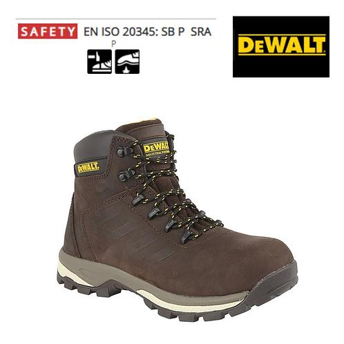 DEWALT Sharpsburg Brown Crazy Horse Leather  Hiker Safety Boot DW003BSM