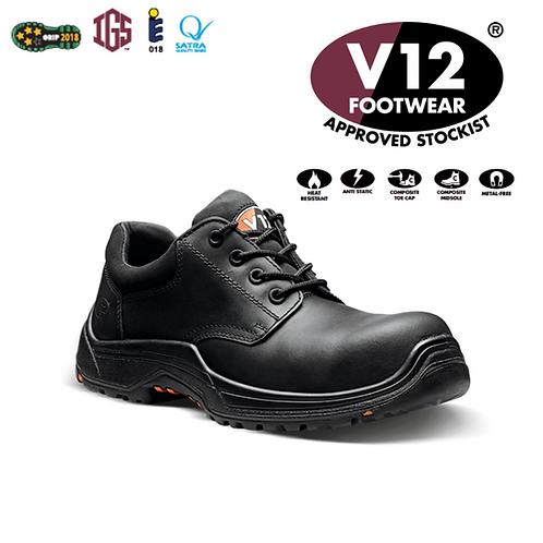 V12 Tiger IGS Black S3 HRO SRC Derby Shoe VR608.01