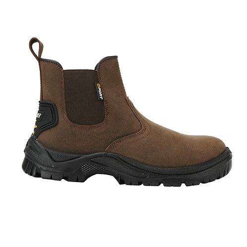FORT Regent Safety Dealer Boot Brown S1p SRC FF104
