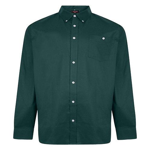 Espionage Oxford Long Sleeve Shirt XL Sizes SH334