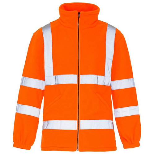 Supertouch Hi Vis Orange Fleece Jacket GO/RT 3279 H44