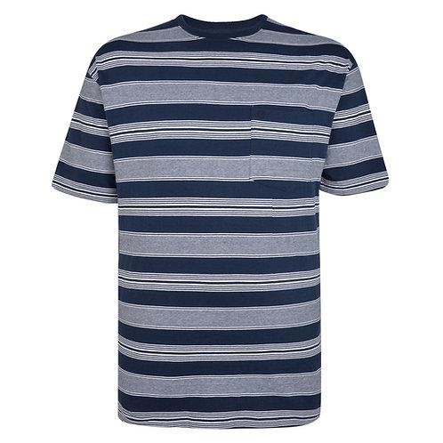 Espionage Striped Tshirt XL Sizes T297