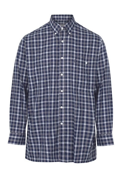 Champion Country Estate Southwold Long Sleeved Shirt  Navy 3205