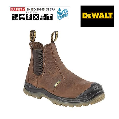 DEWALT Nitrogen Brown Full Grain Leather WR Pull On Safety Boot DW004B