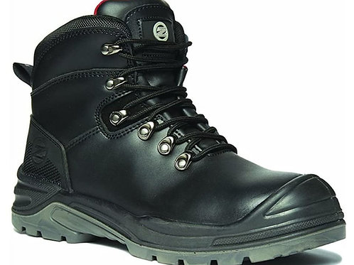 ZEPHYR Premium Leather Steel Toe Safety Boot SRC S3 ZX03