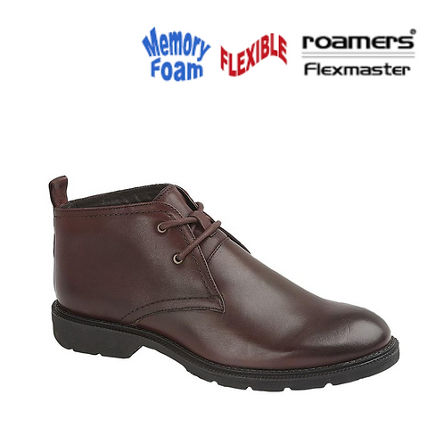 ROAMERS Oxblood Leather Chukka Boot M98521BD