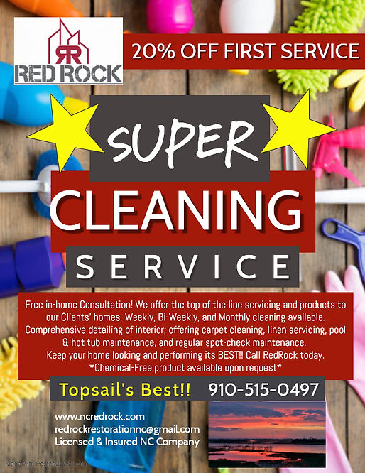 Copy of CLEANING SERVICE - Made with Pos