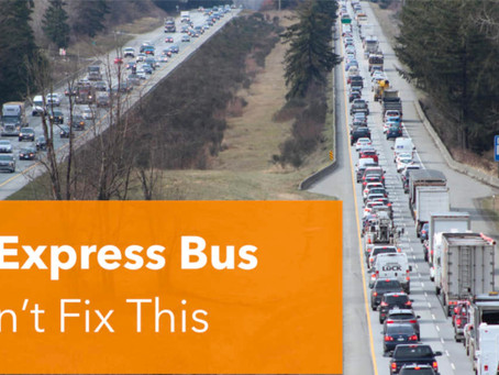 Express Buses are NOT the Answer to Inter-Regional Transit