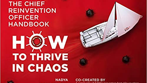 "Dr Nadya Zhexembayeva - Author of ""The Chief Reinvention Officer Handbook"""