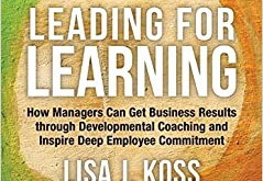 """Lisa Koss - Author of """"Leading for Learning"""""""
